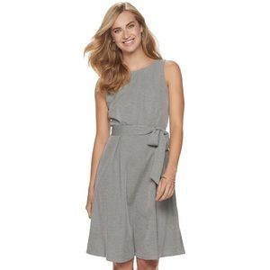 NWT ELLE Fit N Flare Size Large Sleeveless dress L
